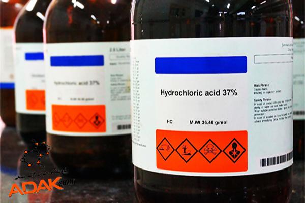 اسید کاریدریک آزمایشگاهی 37 درصد